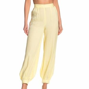 Onia Jodie High Waist Shimmer Cover-Up Pants NWT